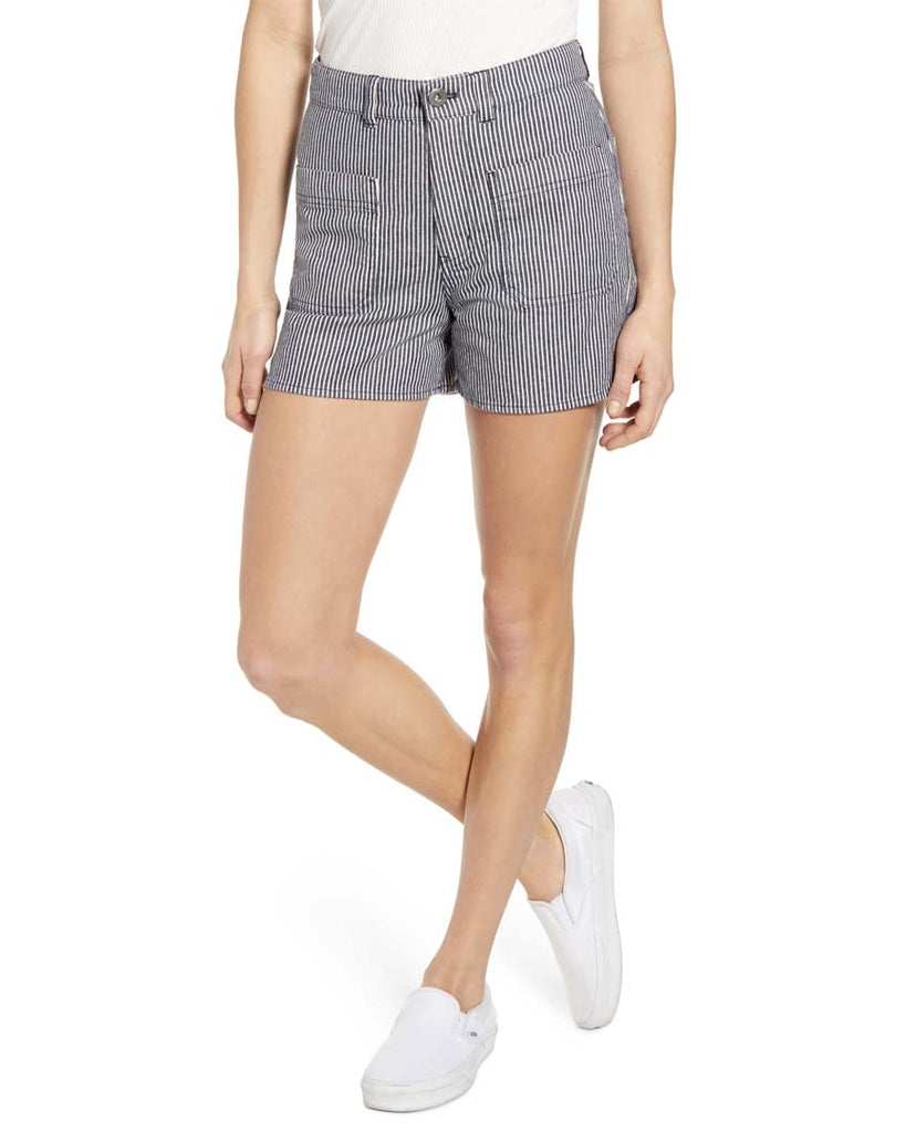 Short VANS BARRECKS HIGH RISE CUTOFF SHORTS DRESS BLUES