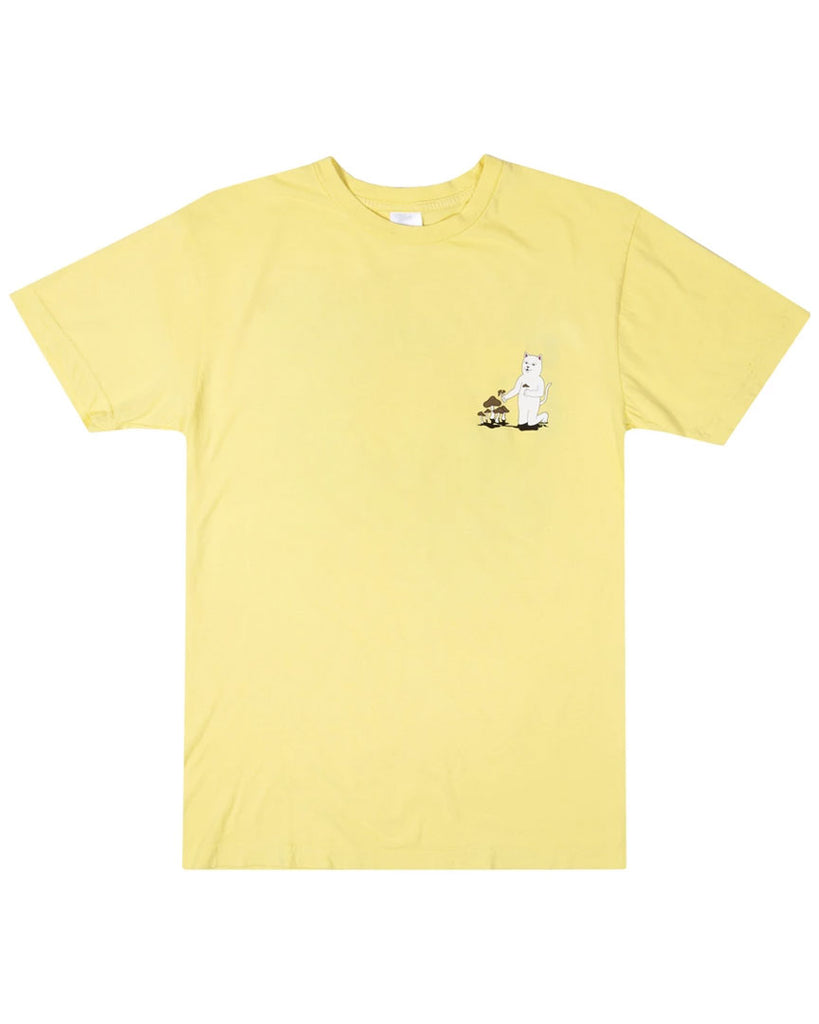 T-shirt RIPNDIP PARK DAY TEE LIGHT YELLOW