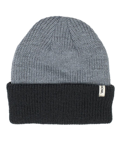 SLASH BEANIE HEATER GREY