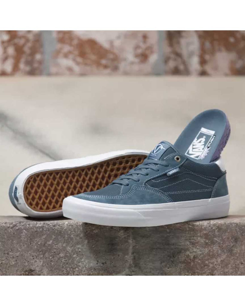 VANS MIRAGE ROWAN PRO BLUE-WHITE Shoes
