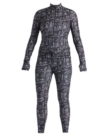 WOMENS HOODLESS NINJA SUIT TP YOGIS 2020