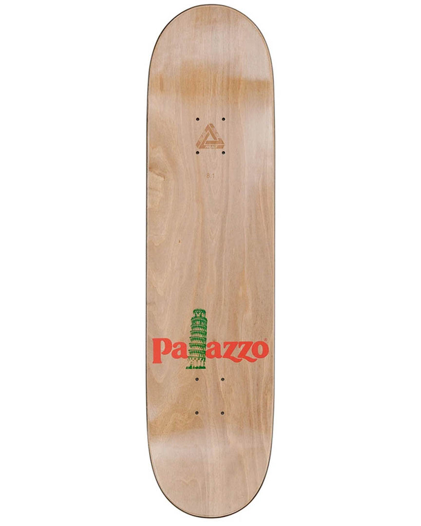 Planche de skateboard PALACE PALAZZO RED 8.1