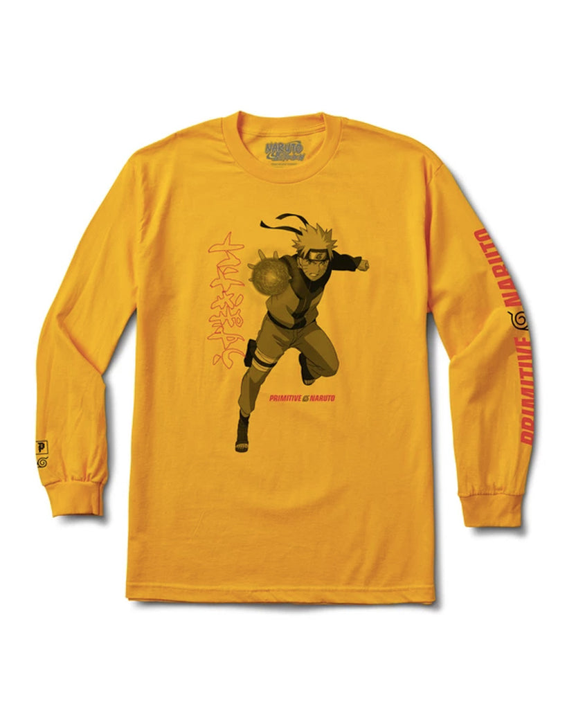 T-shirt manche longue PRIMITIVE JUTSU LS GOLD
