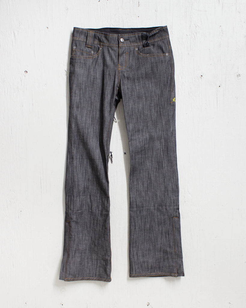 Snow pants HOLDEN STELLA 3 SKINNY DENIM BLACK