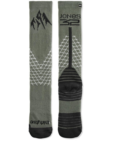 JONES BAMBOO ASI SOCK GREEN