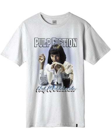 PULP FICTION MIA AIRBRUSH T-SHIRT WHITE