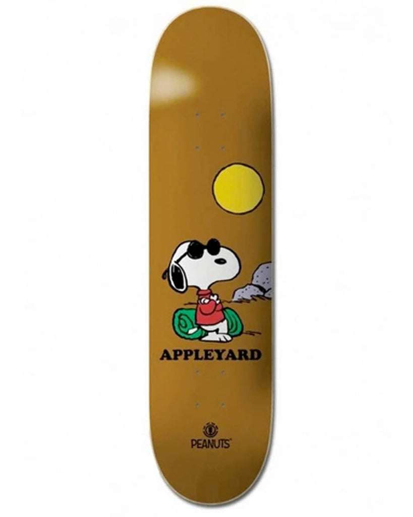 Planche de skateboard ELEMENT PEANUTS JOE COOL APPLEYARD 8.25