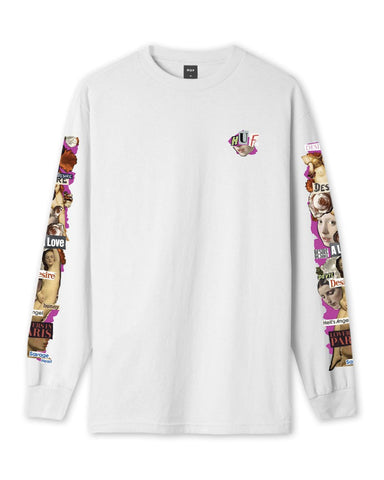 DESIRE LONG SLEEVE WHITE