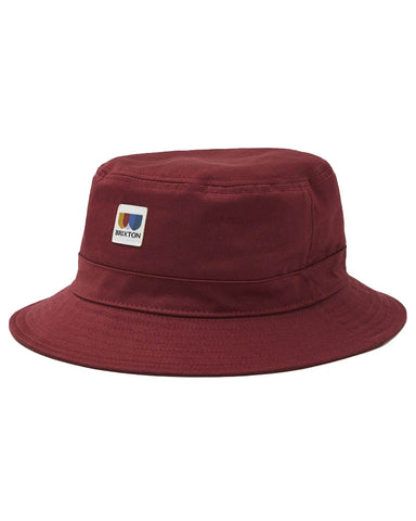 ALTON PACKABLE BUCKET HAT COWHIDE