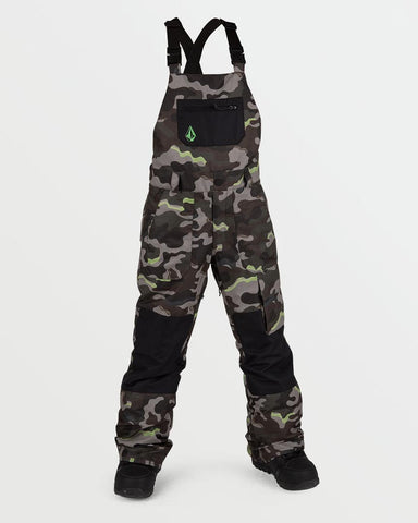 BIG YOUTH BARKLEY BIB OVERALL - ARMY