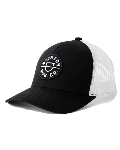 CREST CROSSOVER MP MESH CAP BLACK