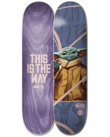 STARWARS MANDALORIAN THE CHILD 8.2 DECK