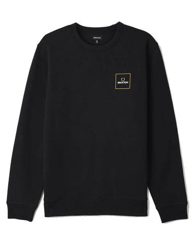ALPHA SQUARE CREW BLACK