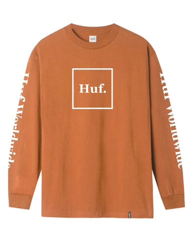 DOMESTIC L / S TEE RUST
