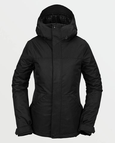 WOMENS BOLT INSULATED JACKET - BLACK