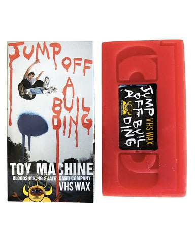 JUMP OFF A BUILDING VHS WAX