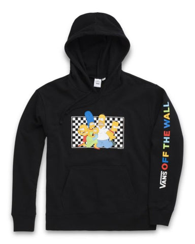 THE SIMPSONS X VANS FAMILY PULLOVER HOODIE WOMEN