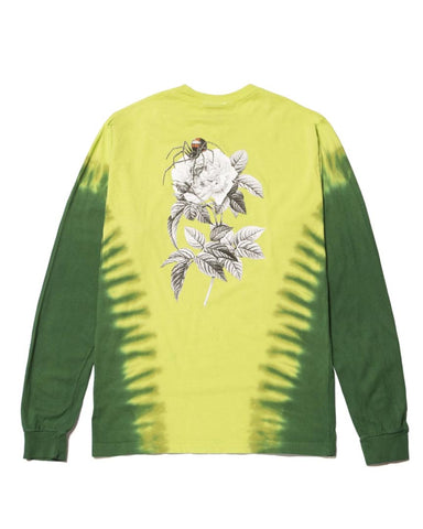 WIDOW LONG SLEEVE T-SHIRT - BIO LIME