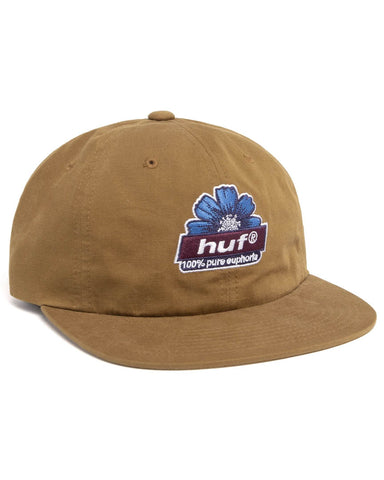 100% PURE 6-PANEL HAT TOFFEE