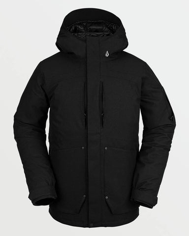 SCORTCH INSULATED JACKET - BLACK