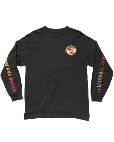 X BLACK SABBATH - NEVER SAY DIE LONGSLEEVE BLACK