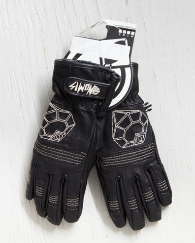 NOMIS -HYPHIE LEATHER GLOVE NOIR  - 1