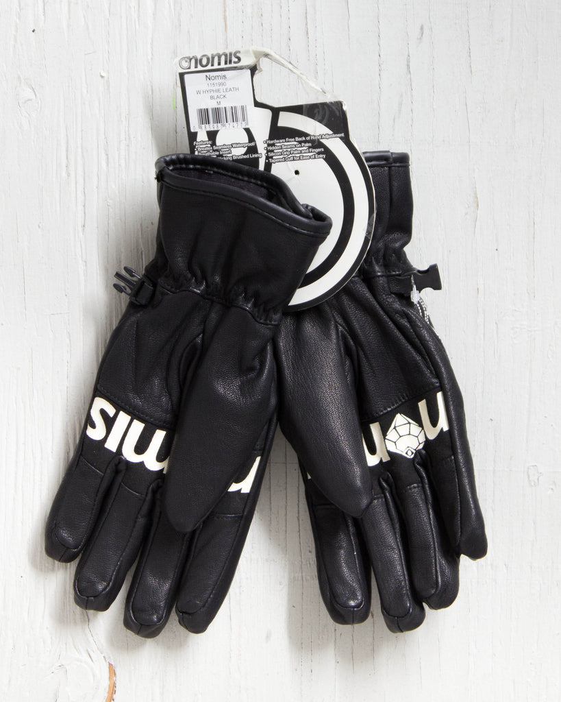 Gants et mitaines NOMIS HYPHIE LEATHER GLOVE NOIR