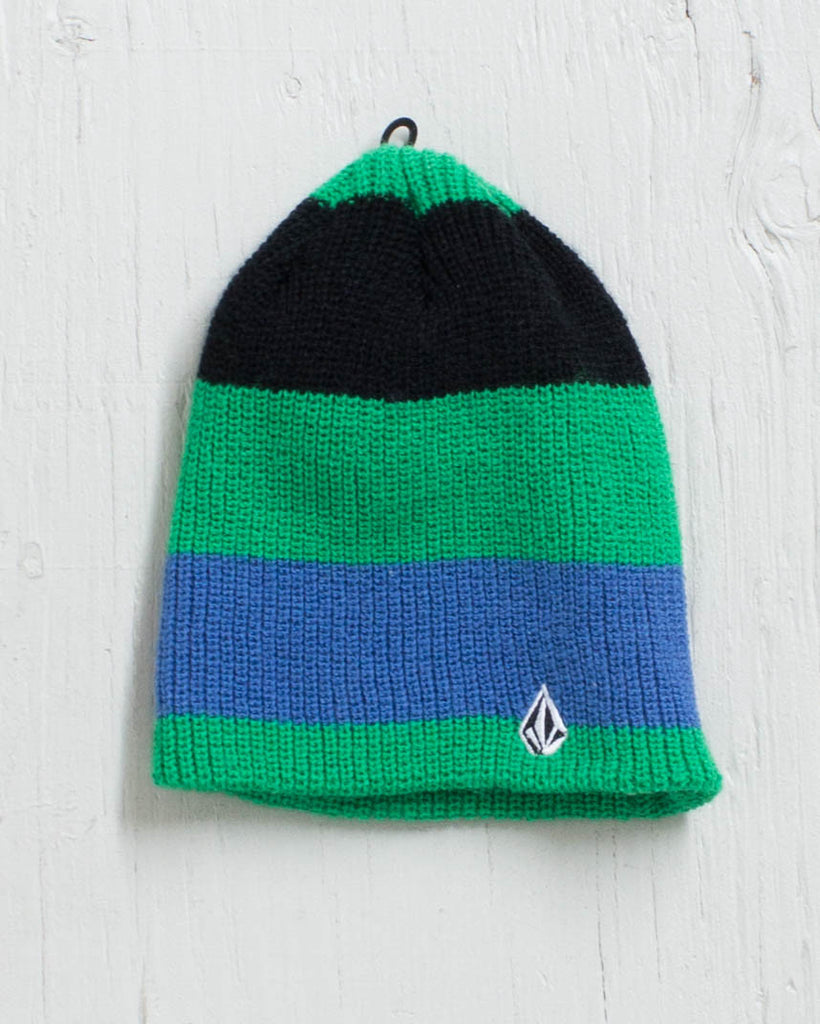 Tuque VOLCOM CHIPS KIDS GREEN/BLUE/BLAC
