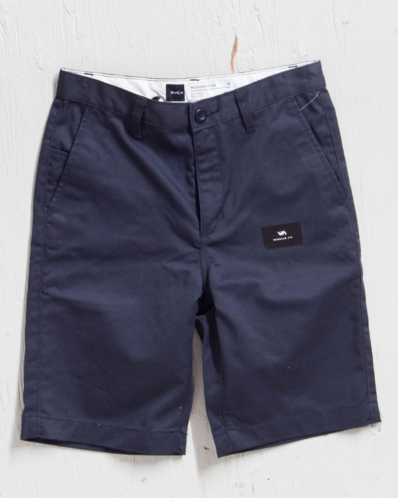 Short RVCA WEEKDAY SHORT NAVY