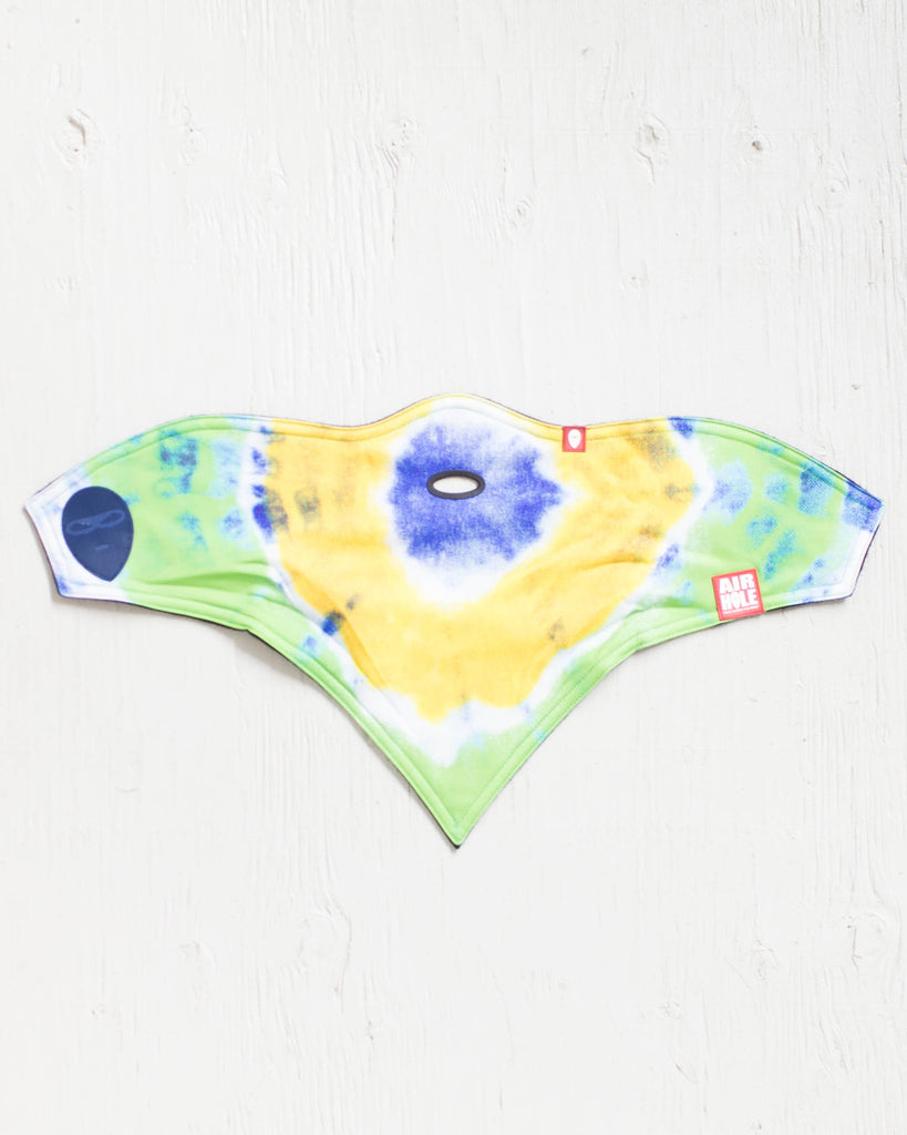AIRHOLE -YOUTH S1 FACEMASK TIE DYE  - 2