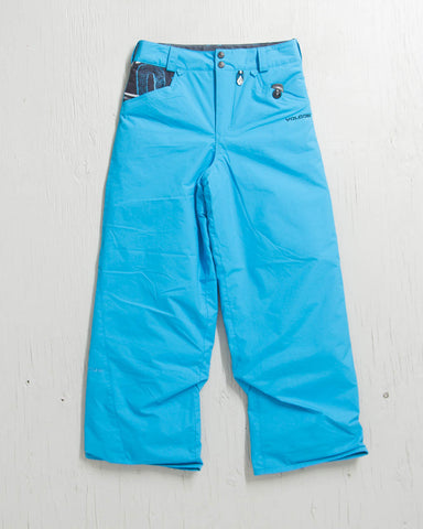 VOLCOM -DISCOVER INS PANTS YOUTH BLUE - 1