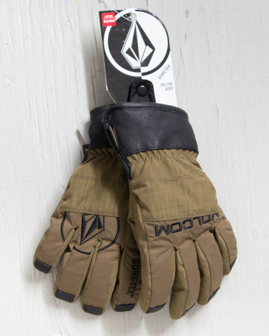 VOLCOM -FULL PIPE GLOVE BEIGE  - 1