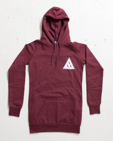 ADRENALINE -ADRE LAMBDA DRESS HOOD BOURGOGNE  - 1