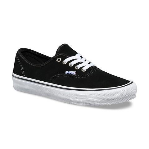 VANS AUTHENTIC PRO SUEDE BLACK Shoes