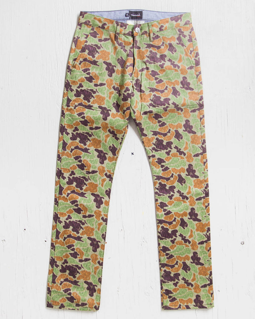Pantalon DIAMOND MILITARY CAMO TAN CAMO