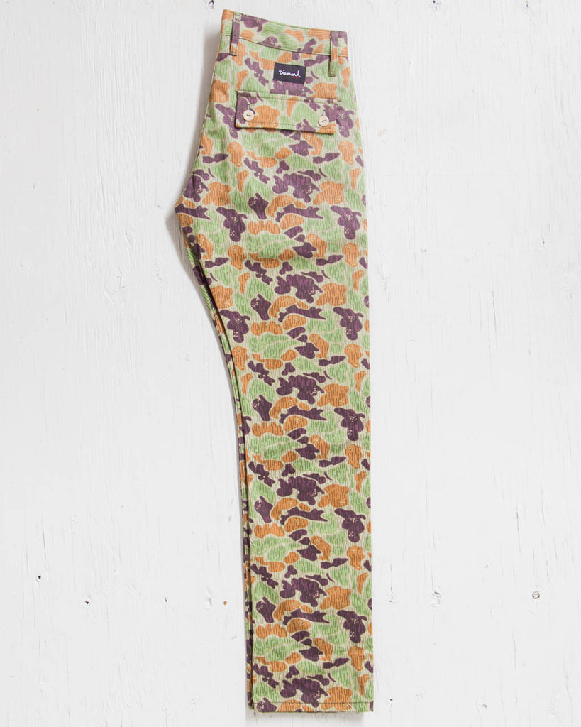 Pants DIAMOND MILITARY CAMO TAN CAMO