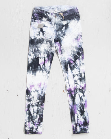 ELEMENT -LYRIC DENIM TIE DYE  - 1
