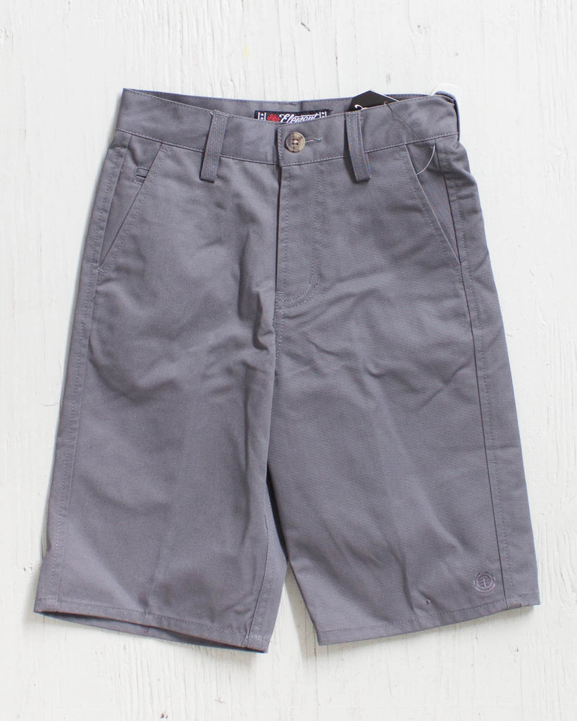 Short ELEMENT HOWLAND CHARCOAL