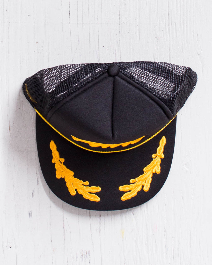 ADRENALINE -ADRE CAPITAINE HAT NOIR/GOLD  - 2