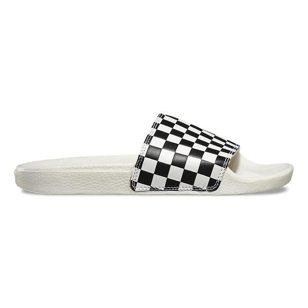 Sandales VANS WOMENS SLIDE-ONE CHECKERBOARD MARCHMALLO