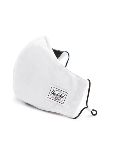 HERSCHEL CLASSIC FITTED FACE MASKS WHITE