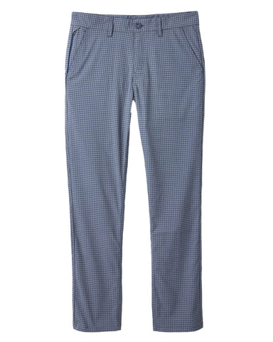CHOICE CHINO TAPER CROSSOVER PANT JOE BLUE/GREY HOUNDSTOOTH