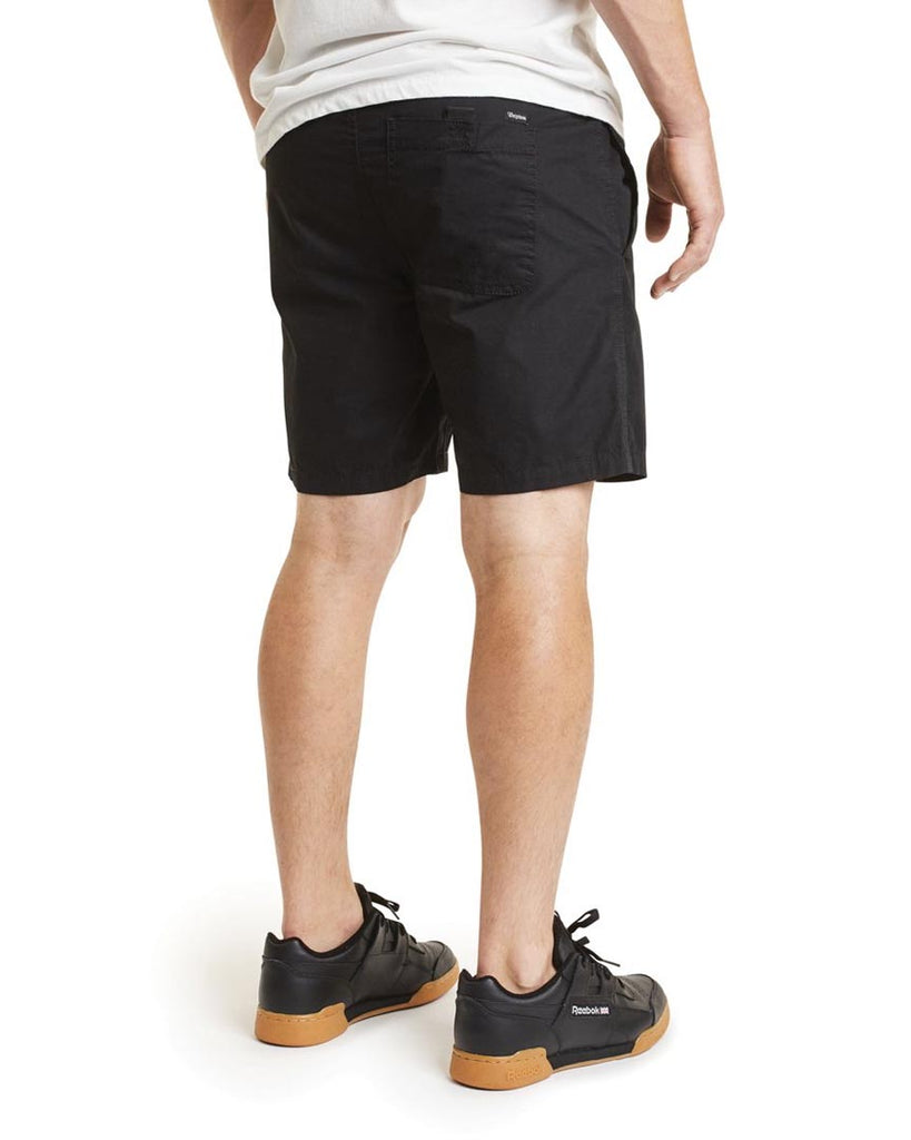BRIXTON STEADY ELASTIC WAISTBAND SHORT Shorts - BLACK