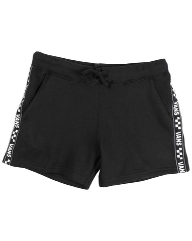 BRAND STRIPER FLEECE SHORT BLACK