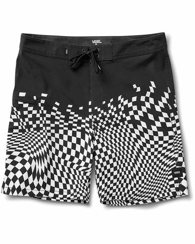 "PIXELATED 19"" BOARDSHORT BLACK"