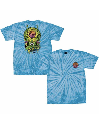 FREAK INVADER TEE AQUA SWIRL