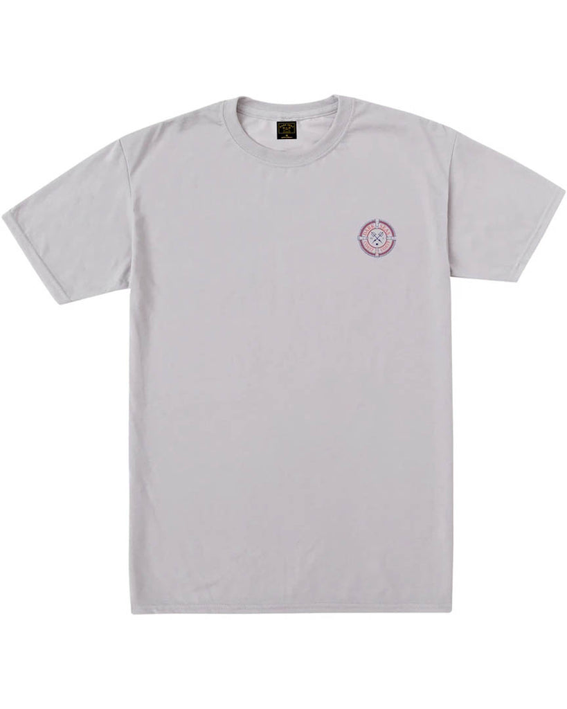 T-shirt DARK SEAS MAKO FLAG WICKING TEE SILVER