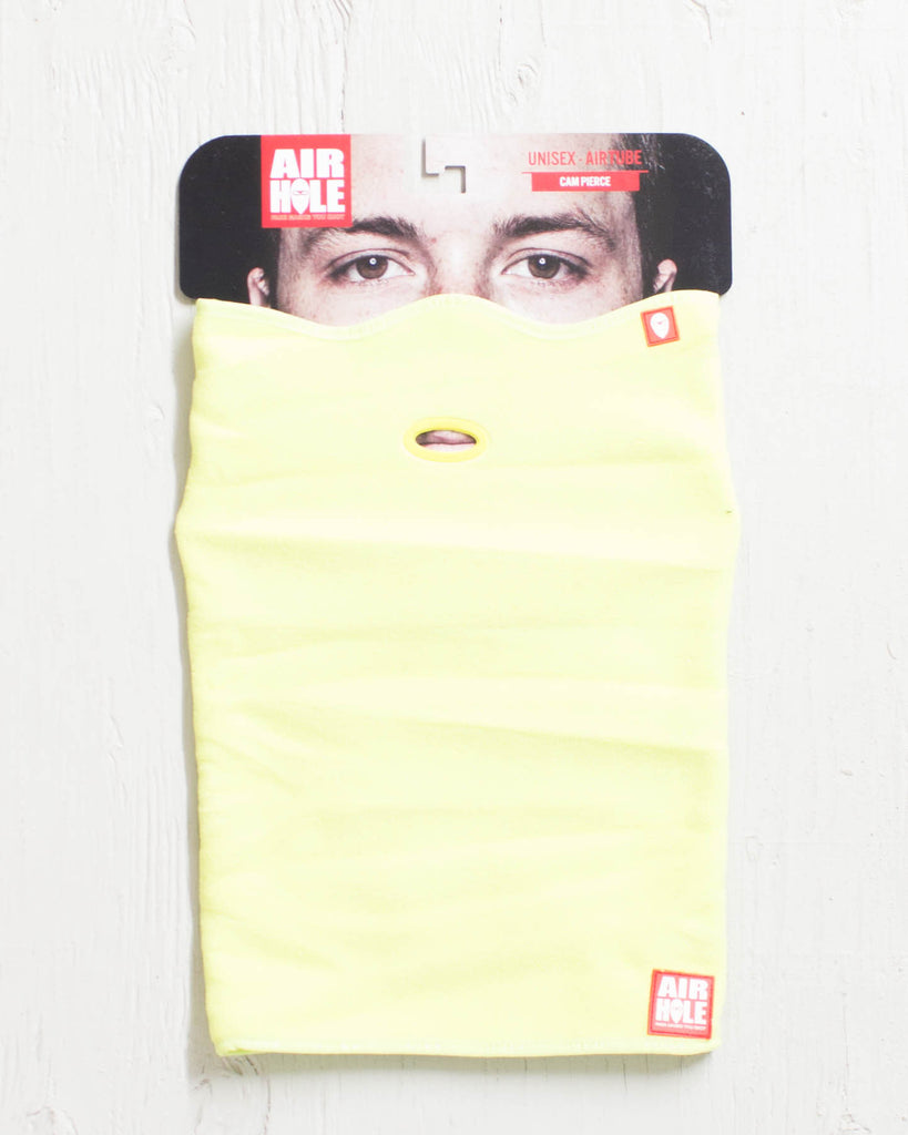 Neck warmer AIRHOLE UNISEX AT1 POLAR YELLOW