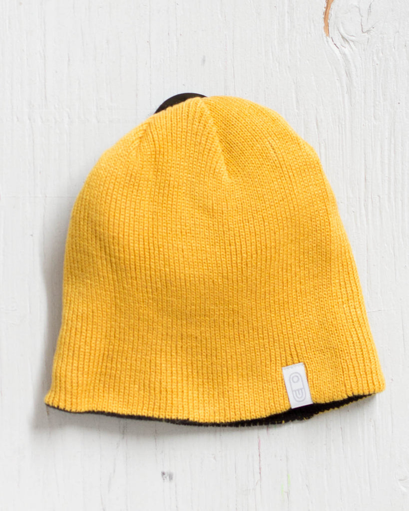 AIRBLASTER REVERSIBLE GOLD / BLACK Beanie