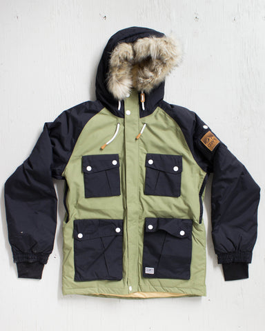 CLWR -ROOTS JACKET LODEN  - 1